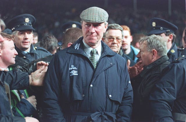 Jack Charlton was in charge of the Republic of Ireland the last time they beat England.