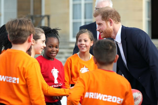 The Duke of Sussex made the World Cup draw