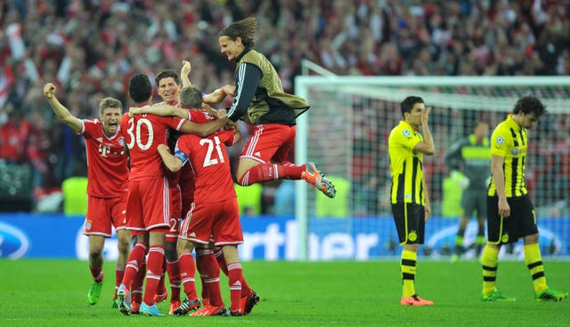 Klopp's Dortmund were beaten by Bayern in the 2013 Champions League final