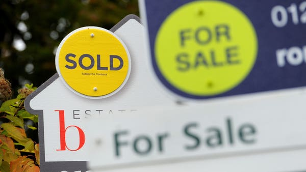 House price growth picks up after seven-year low