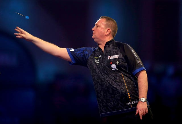 Glen Durrant currently tops the Premier League after six rounds