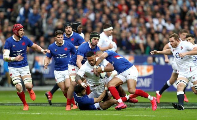 Manu Tuilagi picked up an injury in Paris