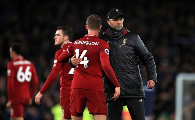 Jurgen Klopp's Liverpool has to settle for a goalless draw at Goodison Park