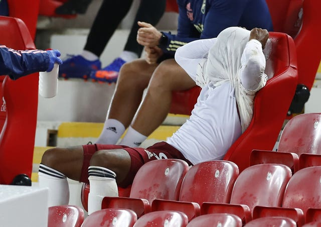 Alexandre Lacazette scored the opener but his night ended in disappointment