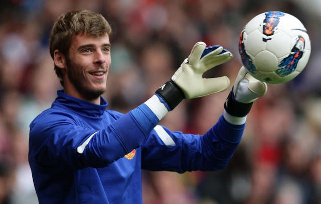 David De Gea joined Manchester United as a 20-year-old in 2011