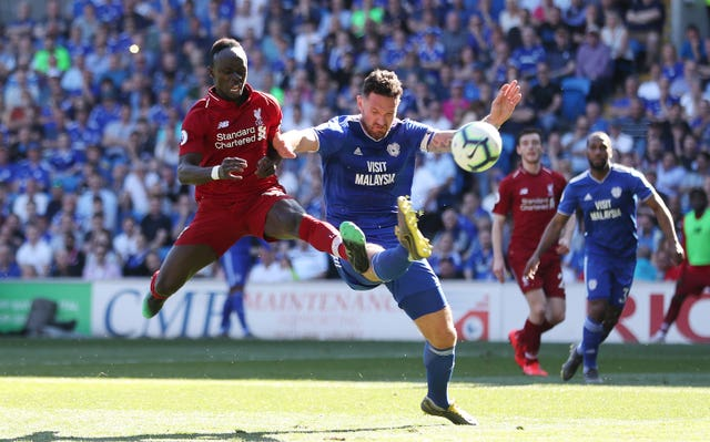 Morrison missed a gilt-edged opportunity to head in a goal for Cardiff