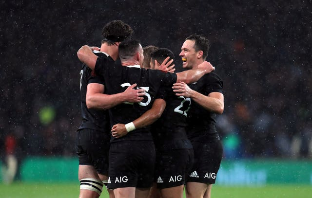 New Zealand are the defending Rugby Championship winners