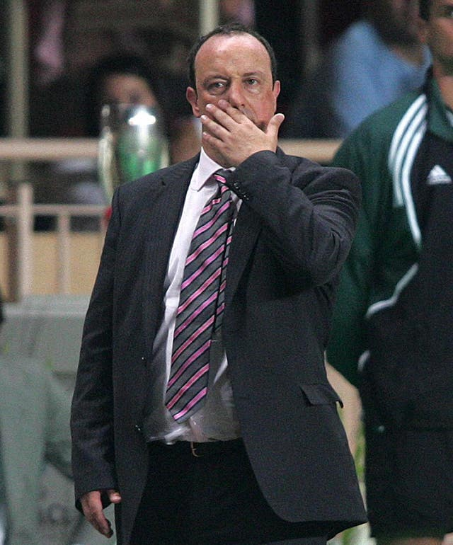 Liverpool manager Rafa Benitez saw his side get off to the worst possible start