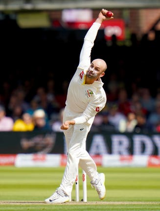 Nathan Lyon gave Australia an injury scare because of an ankle problem