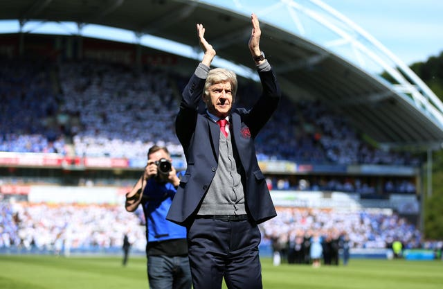 Wenger's reign as Arsenal boss ended at Huddersfield on Sunday