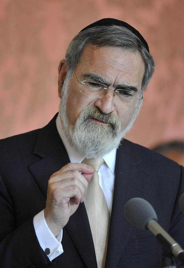 Lord Jonathan Sacks comment