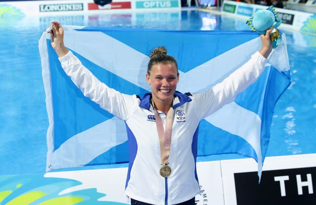 Grace Reid won Scotland's first Commonwealth Games diving gold in 60 years