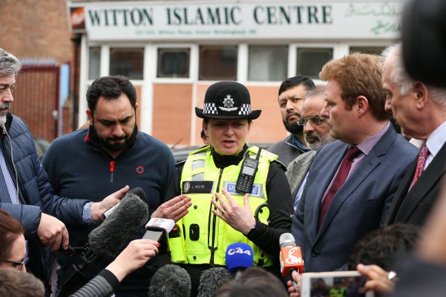 Birmingham mosques attacked