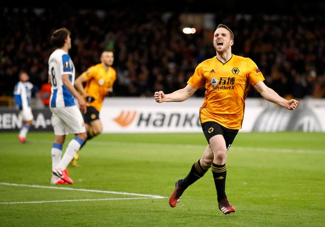 Diogo Jota, right, has become a key man for Wolves