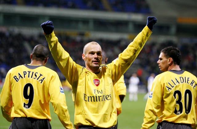 Ljungberg enjoyed a fine playing career at Arsenal.