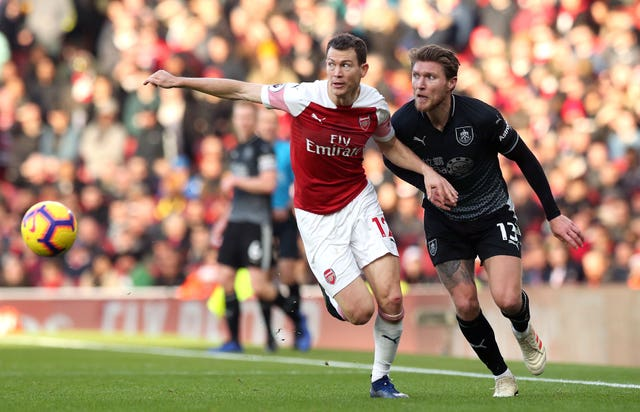 Lichtsteiner joined Arsenal on a free transfer last year.