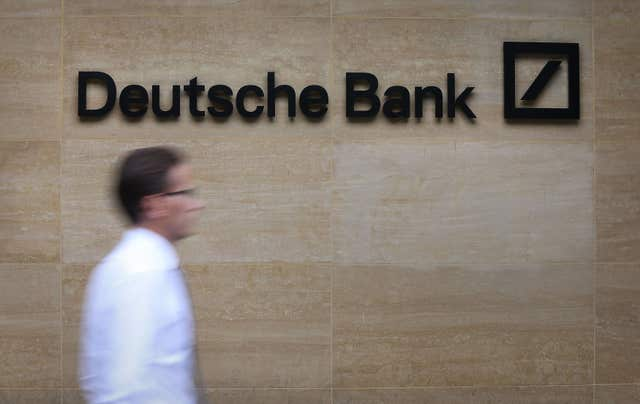 Deutsche Bank has said it may move staff out of London because of Brexit (Philip Toscano/PA)