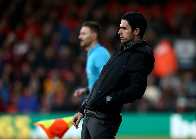 Mikel Arteta watches on as his new Arsenal side are held to a 1-1 draw at Bournemouth on Boxing Day. Former Gunners player Arteta was unveiled as the club's new manager following the sacking of Unai Emery. In March, his positive test for coronavirus was a major catalyst for the suspension of the Premier League