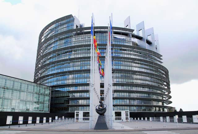 The European Parliament site in Strasbourg, France