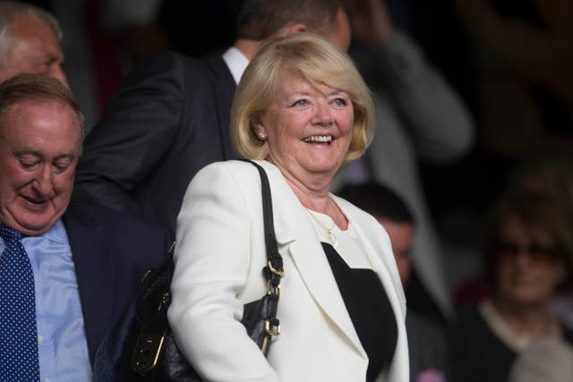Ann Budge helped rescue Hearts