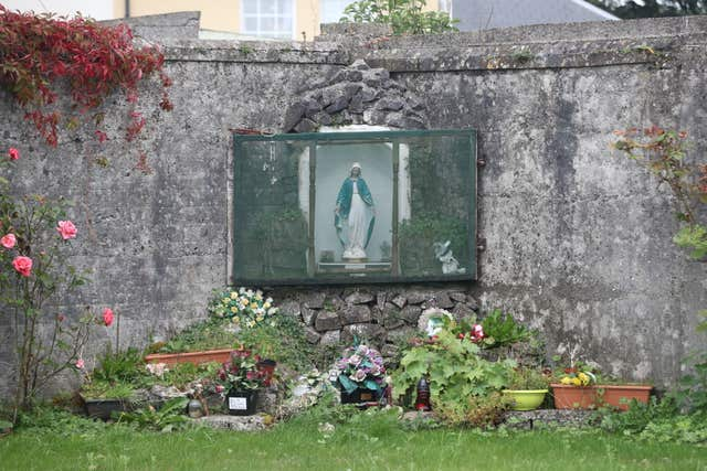 The mass burial site at Tuam in Co Galway