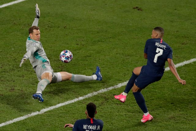 Manuel Neuer proved unbeatable in the Bayern goal