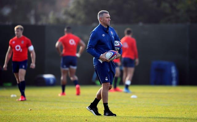 Jason Ryles is England defence coach