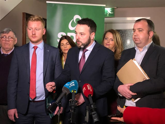 SDLP and Fianna Fail partnership