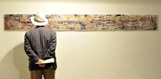 Artists of the River Pageant exhibition