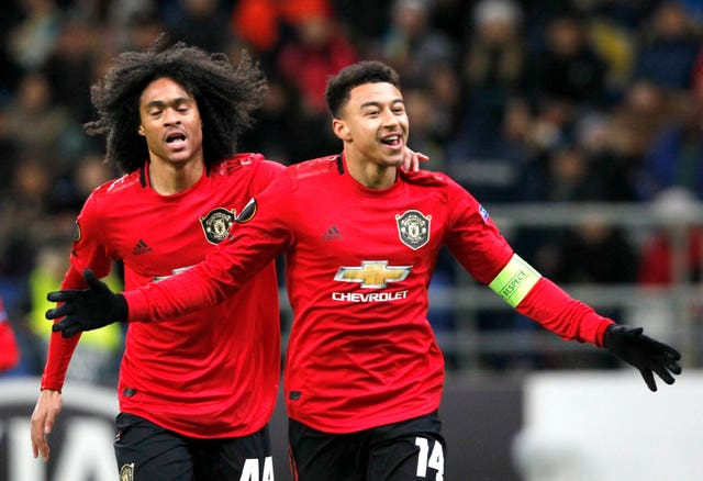 Solskjaer says Chong )left) has been offered a good deal