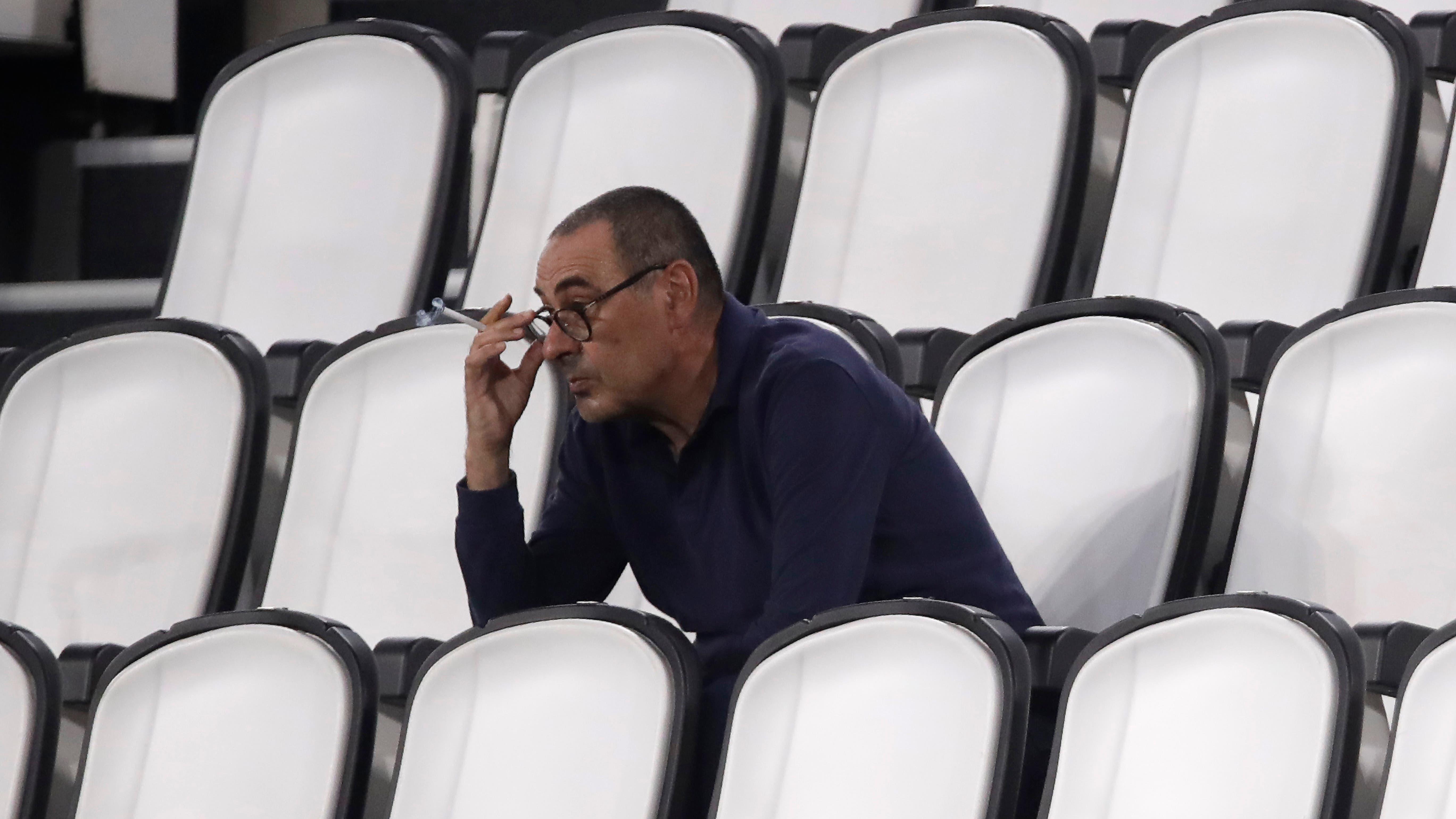 Maurizio Sarri Sacked As Juventus Manager Bt Sport