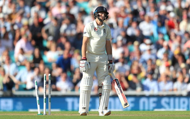 Joe Root was again unable to convert a 50