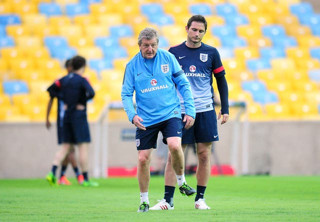 Roy Hodgson worked with Frank Lampard for a lengthy period during his time as England manager