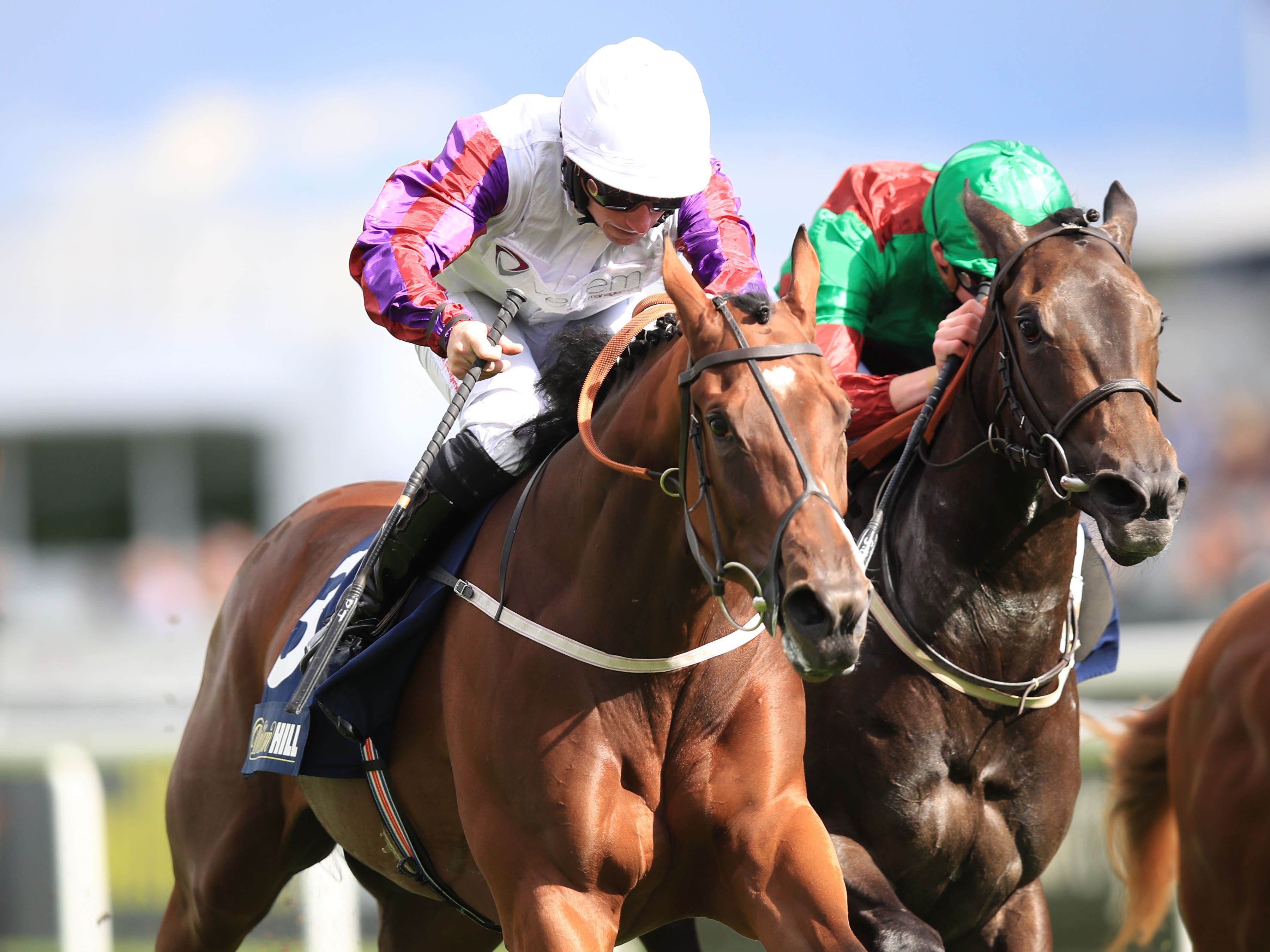 Laurens (left) is among 17 possibles for the Lockinge on Saturday (Mike Egerton/PA)