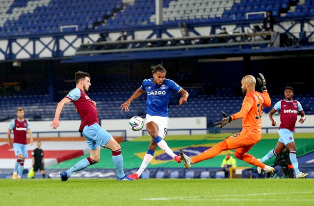 Everton v West Ham United – Carabao Cup – Fourth Round – Goodison Park