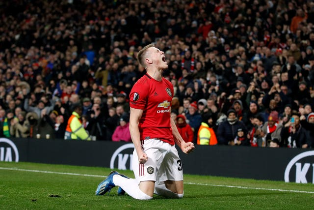 Scott McTominay netted on his return from injury