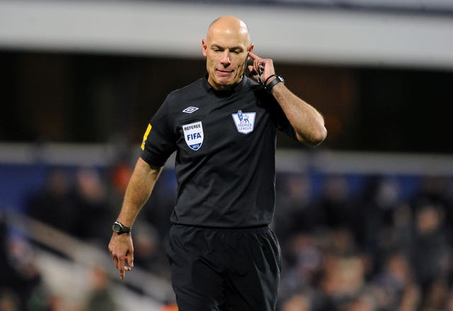 Howard Webb refereed the 2010  World Cup final