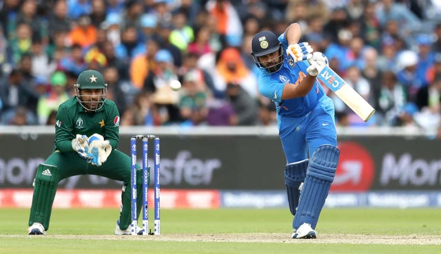 Rohit Sharma was in brilliant form against Pakistan