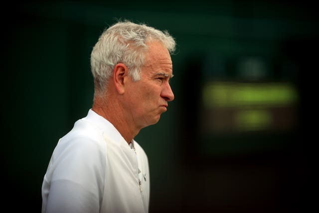 John McEnroe can see John Isner reaching the Wimbledon final