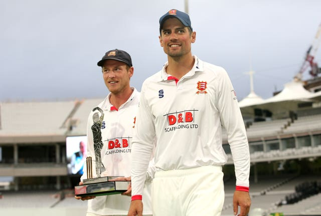 Sir Alastair Cook played a key role in Essex winning the Bob Willis Trophy Final at Lord's