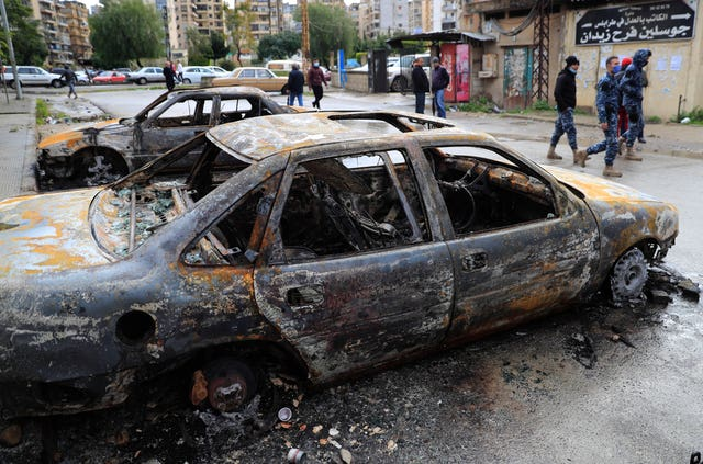 Virus Outbreak Lebanon Protests