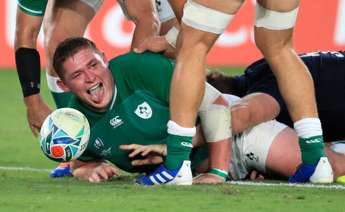 Ireland v Scotland – Pool A – 2019 Rugby World Cup – International Stadium Yokohama