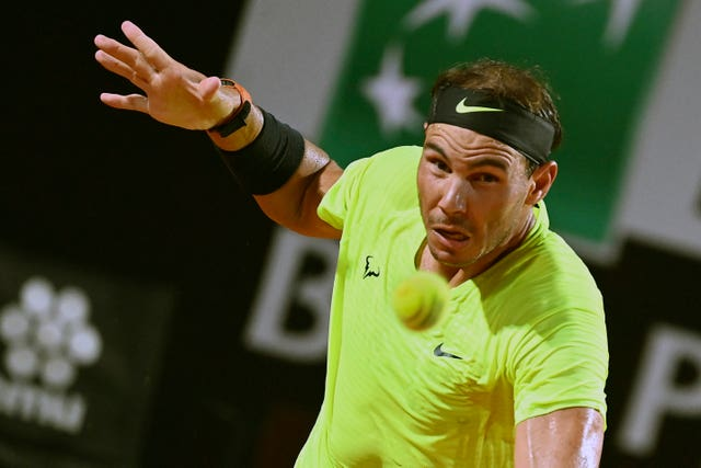 Rafael Nadal was beaten by Diego Schwartzman in Rome