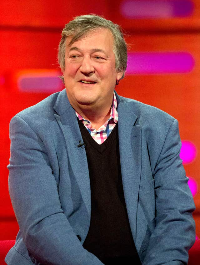 Stephen Fry (Isabel Infantes/PA)
