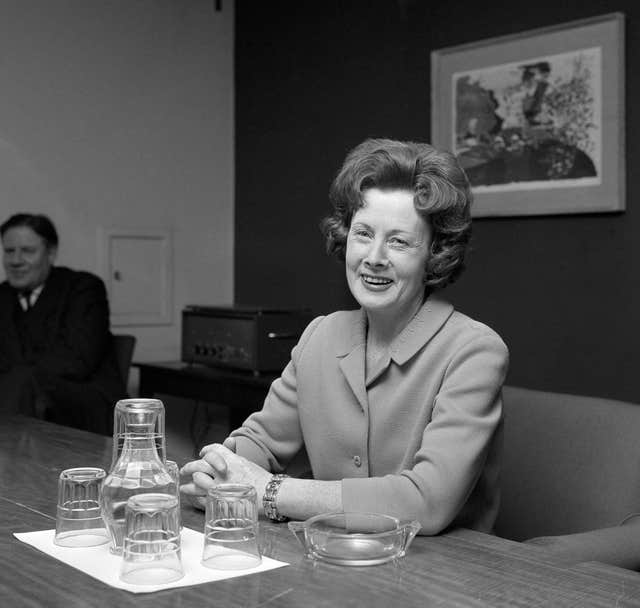Barbara Castle – First Woman Minister of Transport – London