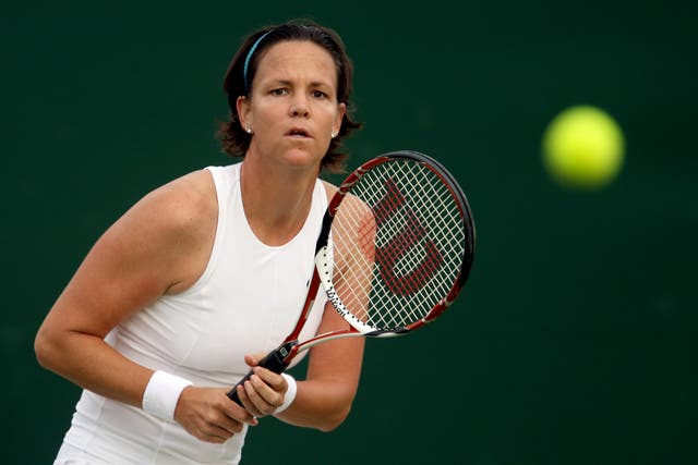 Lindsay Davenport continued her tennis career after the birth of her first two children