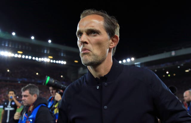 Paris Saint-German manager Thomas Tuchel. (PA)