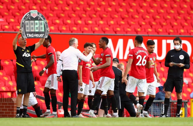 Premier League clubs are expected to vote on whether to extend the rule allowing them to make five substitutions in a match.