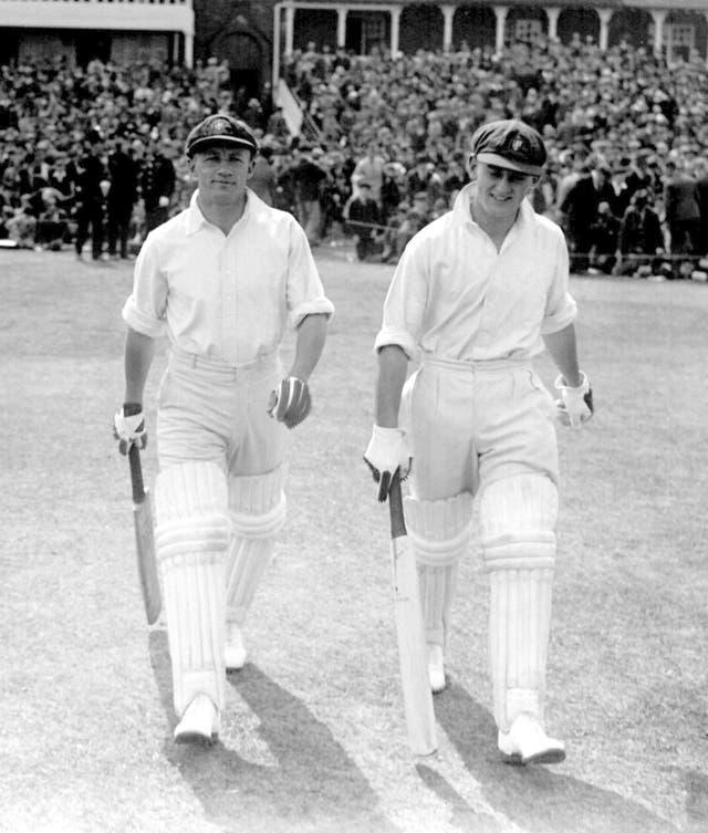 Don Bradman (left) boasted a formidable record at Headingley