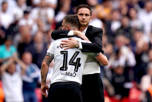 But the 2018-19 season ultimately ended in disappointment as Derby lost to Aston Villa in the play-off final